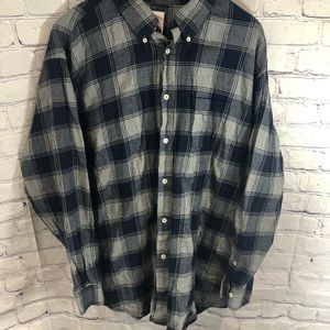 Brooks Brothers Red Fleece Flannel Button Down XXL
